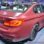 2018 BMW M5 First Edition rear three quarters