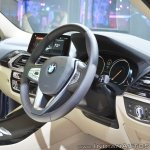 2018 BMW X3 dashboard side view at Auto Expo 2018