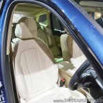 2018 BMW X3 driver's seat at Auto Expo 2018