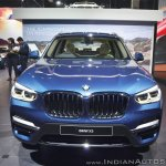 2018 BMW X3 front at Auto Expo 2018