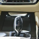 2018 BMW X3 gearshift lever at Auto Expo 2018