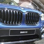 2018 BMW X3 grille at Auto Expo 2018