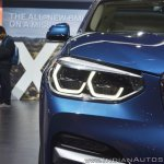 2018 BMW X3 headlamp at Auto Expo 2018