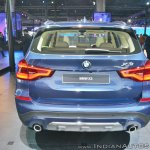 2018 BMW X3 rear at Auto Expo 2018