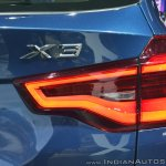 2018 BMW X3 tail lamp at Auto Expo 2018