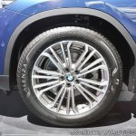 2018 BMW X3 wheel at Auto Expo 2018