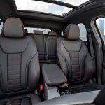 2018 BMW X4 (BMW G02) front seats