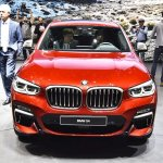 2018 BMW X4 M40d front at 2018 Geneva Motor Show