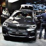 2018 BMW X4 xDrive30i front at 2018 Geneva Motor Show