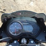 2018 Bajaj Discover 110 cockpit first ride review