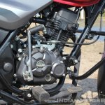 2018 Bajaj Discover 110 engine right side first ride review