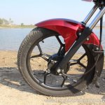 2018 Bajaj Discover 110 front wheel first ride review