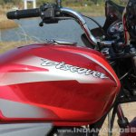 2018 Bajaj Discover 110 fuel tank first ride review