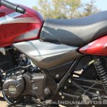 2018 Bajaj Discover 110 side panels first ride review