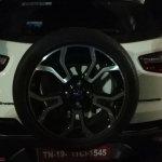 2018 Ford EcoSport Signature alloy wheel spy shot
