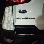 2018 Ford EcoSport Signature tailgate spy shot