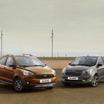 2018 Ford Ka+ (2018 Ford Figo) and Ford Ka+ Active