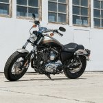 2018 Harley-Davidson 1200 Custom press left side