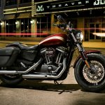 2018 Harley-Davidson 1200 Custom press with accessories