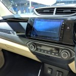 2018 Honda Amaze centre console close view