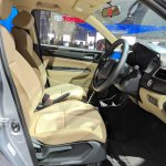 2018 Honda Amaze front seats