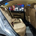 2018 Honda Amaze rear seats