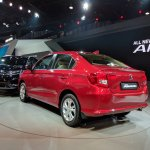 2018 Honda Amaze rear three quarters left side
