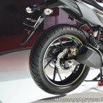 2018 Honda CB Hornet 160R rear wheel at 2018 Auto Expo