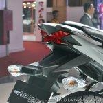 2018 Honda CB Hornet 160R tail light at 2018 Auto Expo