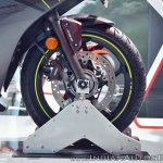 2018 Honda CBR250R front wheel at 2018 Auto Expo
