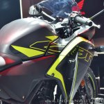 2018 Honda CBR250R fuel tank at 2018 Auto Expo