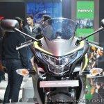 2018 Honda CBR250R headlamp at 2018 Auto Expo