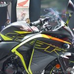 2018 Honda CBR250R right side fairing at 2018 Auto Expo