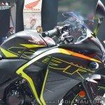 2018 Honda CBR250R right side fairing at 2018 Auto Expo