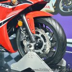 2018 Honda CBR650F front wheel at 2018 Auto Expo
