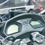 2018 Honda CBR650F instrument cluster at 2018 Auto Expo