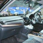 2018 Honda CR-V dashboard side view at Auto Expo 2018