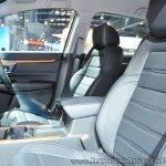2018 Honda CR-V front seats at Auto Expo 2018