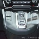 2018 Honda CR-V gear buttons at Auto Expo 2018