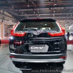 2018 Honda CR-V rear at Auto Expo 2018