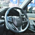 2018 Honda CR-V steering at Auto Expo 2018