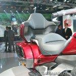 2018 Honda Goldwing Tour backrest at 2018 Auto Expo