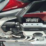 2018 Honda Goldwing Tour engine at 2018 Auto Expo