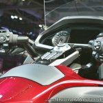 2018 Honda Goldwing Tour switchgear at 2018 Auto Expo
