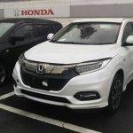 2018 Honda Vezel (2018 Honda HR-V) front three quarters left side
