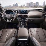 2018 Hyundai Santa Fe interior