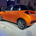 2018 Hyundai i20 (facelift) Passion Orange with Black at Auto Expo 2018