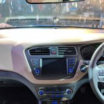 2018 Hyundai i20 (facelift) centre console at Auto Expo 2018