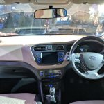 2018 Hyundai i20 (facelift) dashboard at Auto Expo 2018