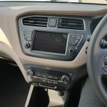 2018 Hyundai i20 facelift dashboard centre console